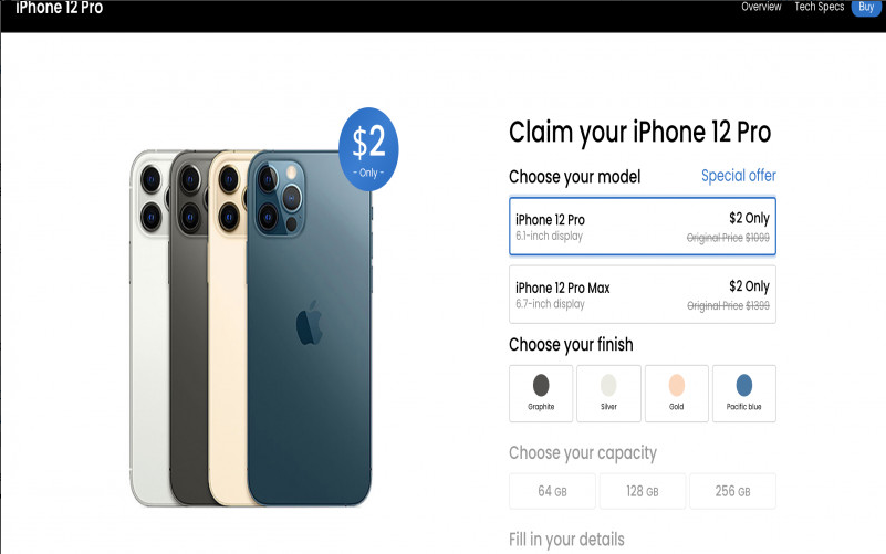 Claim Your Iphone 12 Pro